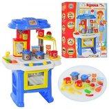 Набор игровой детская кухня 08912 свет звук духовка
