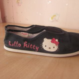 Домашние тапочки для девочки,Hello Kitty, размер 31.