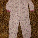 Пижама слип человечек комбинезон размер S рост 160-170см