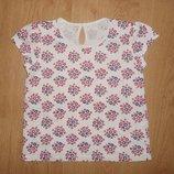 Футболка,блузка для девочки Matalan, 4-5 лет, 110 см, оригинал