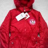 Disney Minni Mouse Куртка евро-зима на 5-6,7-8,9-10 лет.