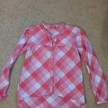 Рубашечка на рост 110-116 см большемерет