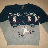 Новогодний свитер Urban 65 11-12л,
