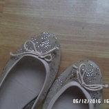 Zara Woman балетки 39р. 25см