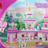 Конструктор SLUBAN M38-B0251 Розовая Мечта - Замок Принцессы