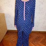 слип флисовый, пижама, человечек р12-14