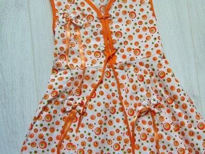 5ca6042574a Яркое летнее платьице для девочки. Размер 2 года. Состояние новой вещи.  Previous Next
