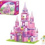 Детский Конструктор M38-B0152 Розовая Мечта Замок принцессы