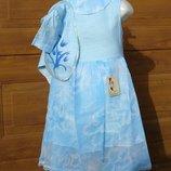 Нарядный комплект платье с болеро