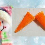 Нос Снеговик морковка карнавальный