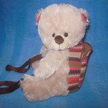 Рюкзак - мишка обнимашка, сумка для конфет на Св. Николая