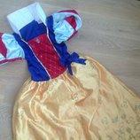 В Маг Большой Выбор Карнавальное платье 7-8 л детское костюм белоснежка принцесса новый год Дисней