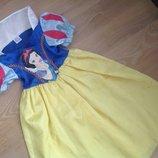 Карнавальному платье 5-6 л костюм утренник новый год Disney Дисней принцесса белоснежка Оригинал