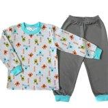 Пижама с начесом для мальчика Monsters, Мерри Би