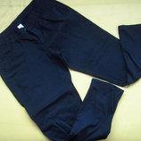 Фирменные стильные штаны чёрного цвета