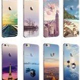 Яркие Премиум силиконовый чехлы для Iphone 7 7S