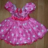 Платье с Минни на 1.5-2 года