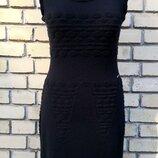 Платье / сарафан Chanel, оригинал, шерсть / шелк необычайно мягкое , цвет- черный.