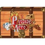 Настольная игра Русское лото деревянное данко тойс Danko Toys DT G39
