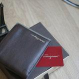 Мужской портмоне, кошелекSalvatore Farragamo натуральная кожа новый в наличии