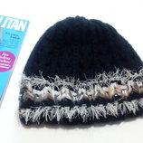 Теплая двойная шапочка agbo