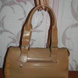 Шикарная кожаная сумка L.Credi