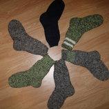 Носки мужские вязаные до 45 разм