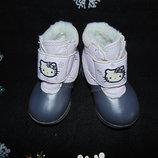 Гламурные сапожки H&M 18/19р,ст 12см.Мега выбор обуви и одежды