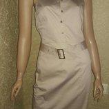 Платье сафари oasis котон размер 10 новое с биркой