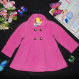 Гламурное пальто St.Bernard 9-12м 74-80см Мега выбор обуви и одежды