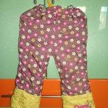 Теплые штаны Can cids на девочку 98 см.