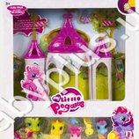 Домик My Little Pony 4 лошадки, аксессуары, 6627