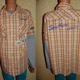 Крутая рубашка George 15-16л 170-176л Мега выбор обуви и одежды