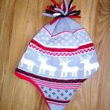 Модная шапочка в олени