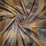 Шелковый платок archive by bally , италия