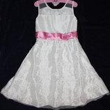 Выпускное, нарядное, бальное, белое платье