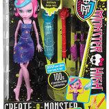 Monster High Create-A-Monster Color-Me-Creepy Раскрась Меня в наличии.