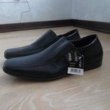 туфли 28,5 см черные мужские кожа новые с биркой класические George Джорж брэнд