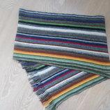 шарф мужской женский полоска цветной redherring