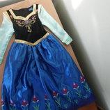 карнавальное платье 6-7 л костюм принцесса Disney Дисней Новое Анна Эльза