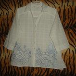 Супер блуза style by ewn р.18,100%коттон