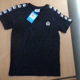футболка 10 л майка черная мальчику фирменная с биркой подарок оригинал admiral