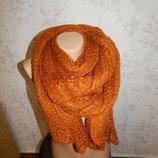 Женственный шарф. Стильный модный.