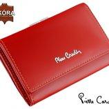 Шикарный женский кожаный кошелек Pierre Cardin