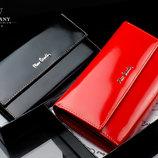 Женский кошелек премиум-класса PIERRE CARDIN Франция кожа
