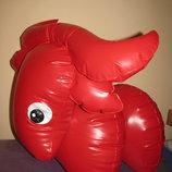 Іграшка корівка-пригунок надувна нова FATRA Оригінал Чехія