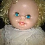 Винтажная коллекционная огромная кукла пупс ссср зубки киев большая