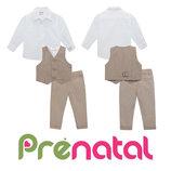 Строгий костюм тройка для малышей 1-3 года фирмы Prenatal Италия