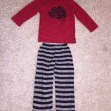 Домашний комплект - пижама на 7-8 лет рост 122-128 см.
