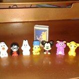 Маленькие игрушки из колекции Дисней